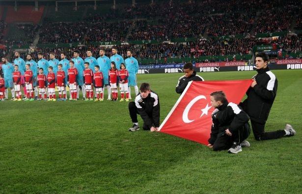 Avusturya-Türkiye maçından kareler 4