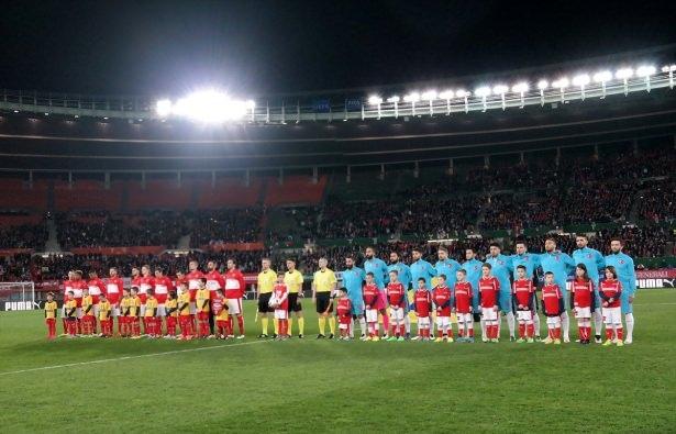 Avusturya-Türkiye maçından kareler 5