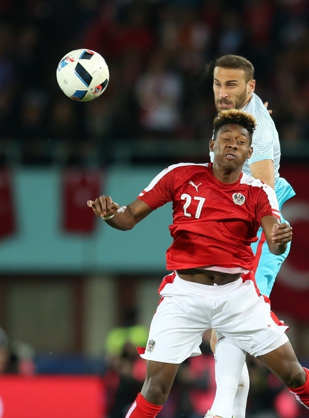 Avusturya-Türkiye maçından kareler 6