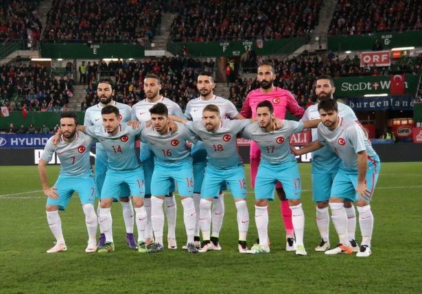 Avusturya-Türkiye maçından kareler 7