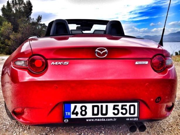 Mazda MX-5'i test ettik 10