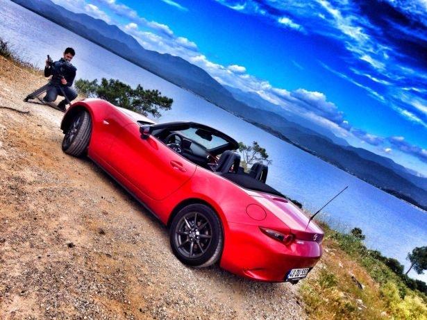 Mazda MX-5'i test ettik 9