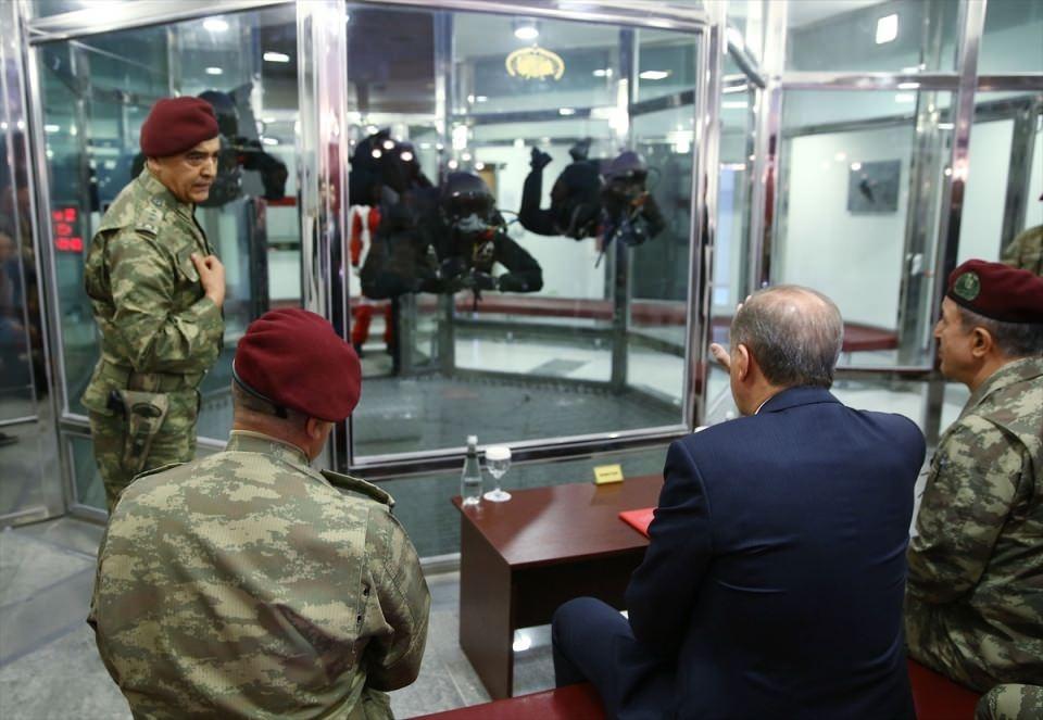 Erdoğan'dan Özel Kuvvetler'e ziyaret 10