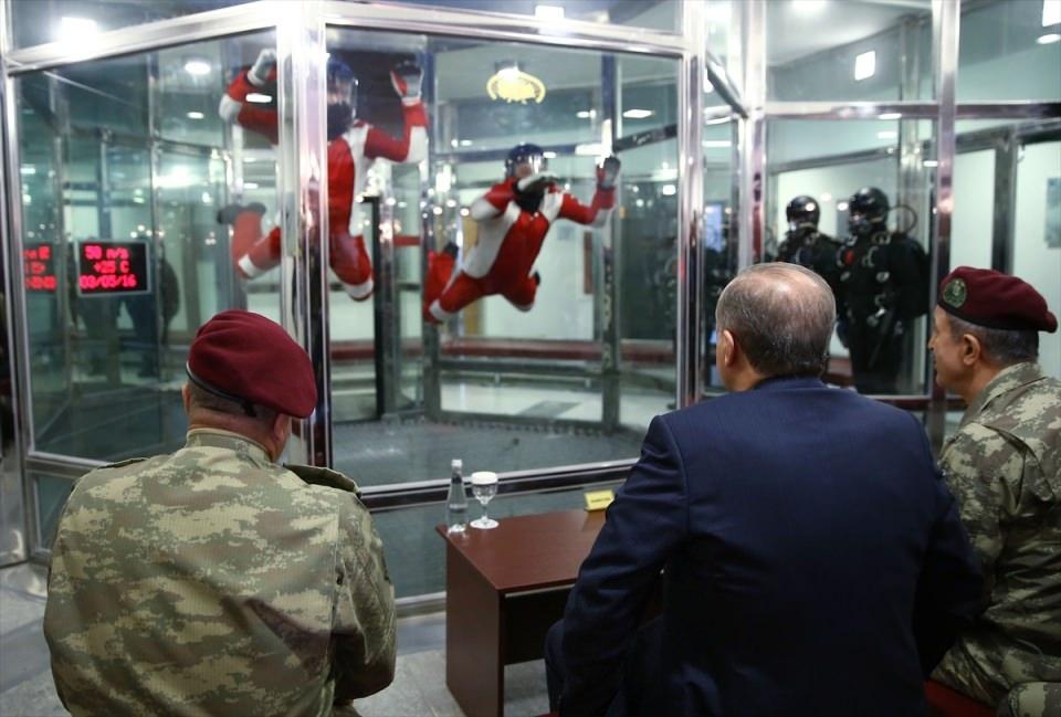 Erdoğan'dan Özel Kuvvetler'e ziyaret 11