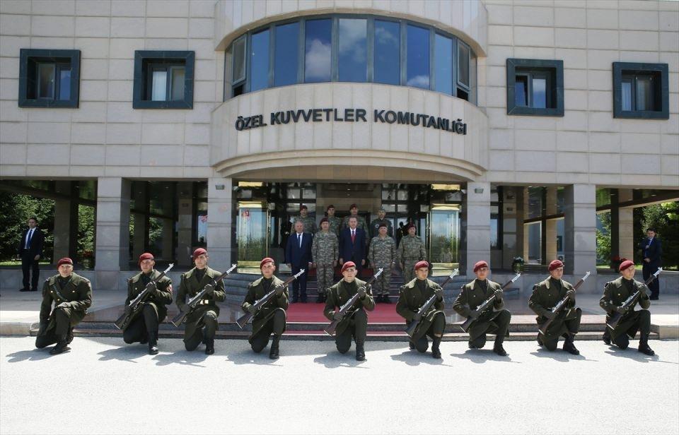 Erdoğan'dan Özel Kuvvetler'e ziyaret 15