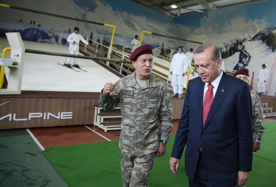 Erdoğan'dan Özel Kuvvetler'e ziyaret 20
