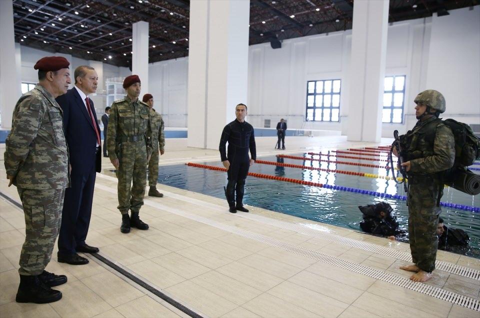Erdoğan'dan Özel Kuvvetler'e ziyaret 21