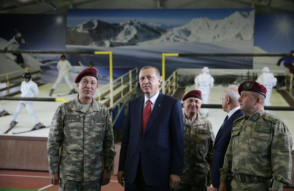 Erdoğan'dan Özel Kuvvetler'e ziyaret 7