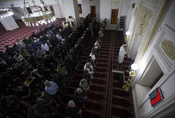 Yüksekova'daki güvenlik güçlerinden Miraç duası 2