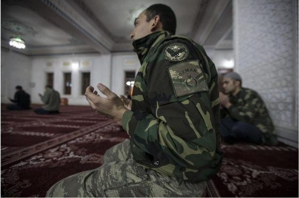 Yüksekova'daki güvenlik güçlerinden Miraç duası 4