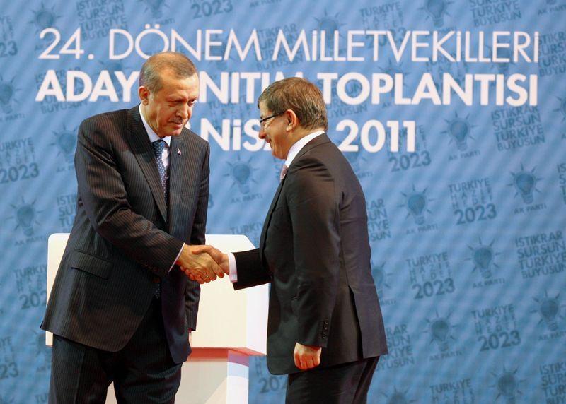 İki yol arkadaşı 'Erdoğan ve Davutoğlu' 10