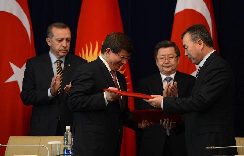 İki yol arkadaşı 'Erdoğan ve Davutoğlu' 12