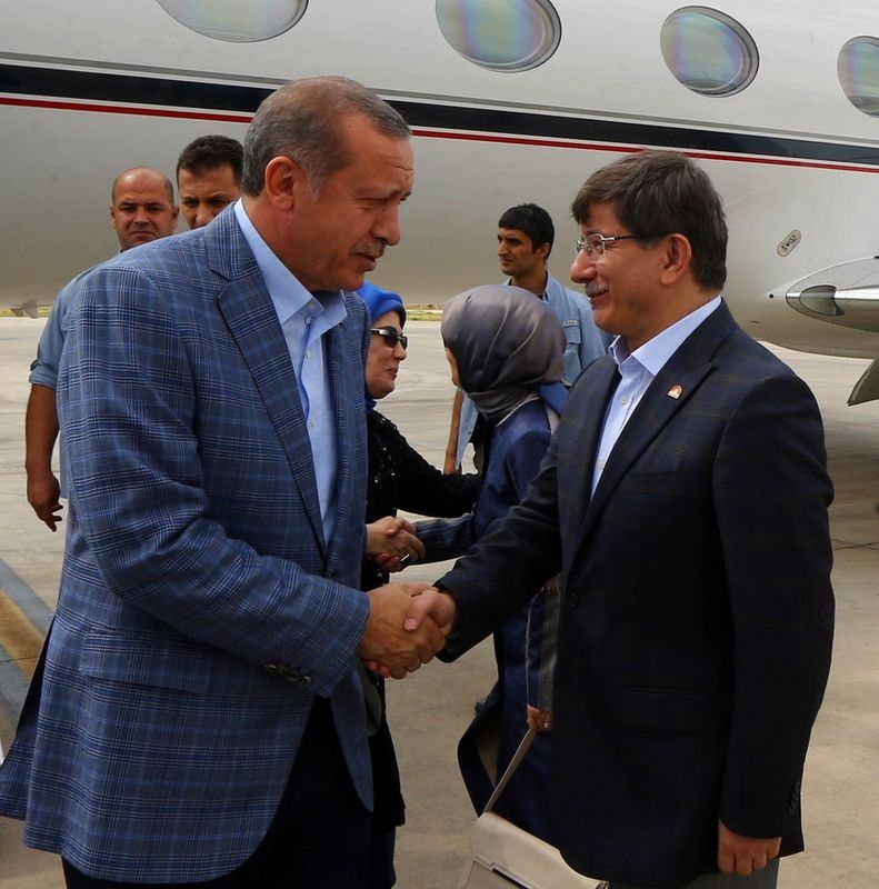 İki yol arkadaşı 'Erdoğan ve Davutoğlu' 13