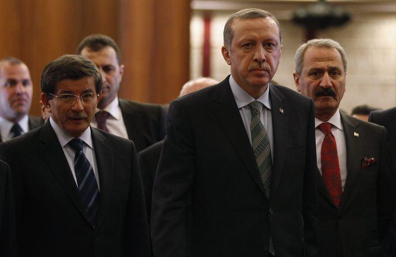 İki yol arkadaşı 'Erdoğan ve Davutoğlu' 6