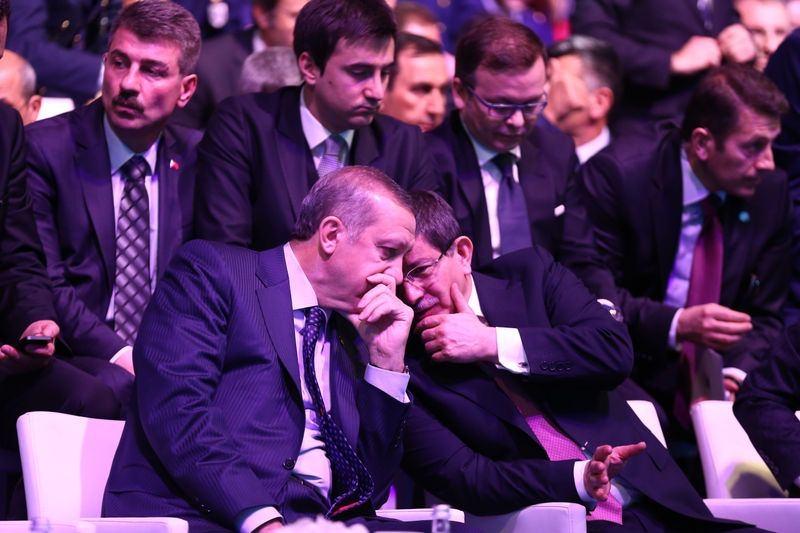 İki yol arkadaşı 'Erdoğan ve Davutoğlu' 9