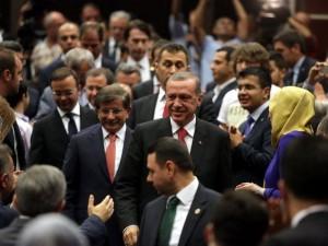İki yol arkadaşı 'Erdoğan ve Davutoğlu'
