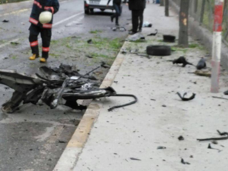 Sancaktepe'de askeri kışla karşısında patlama 3