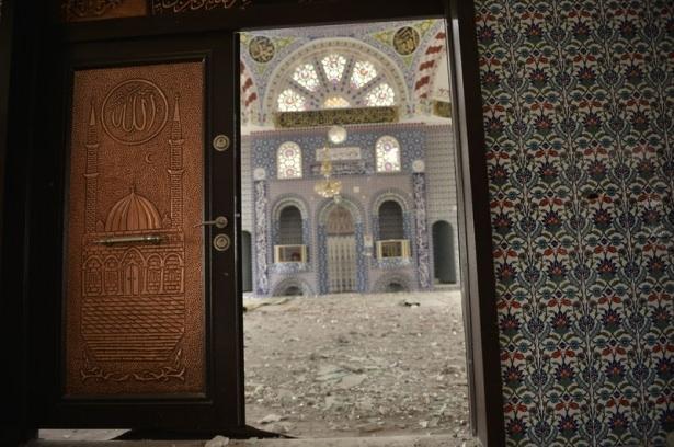 PKK'lı teröristler cami ve okulu yakıp yıktı! 13