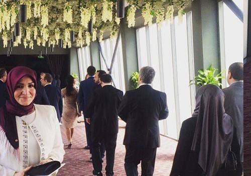 Sümeyye Erdoğan ve Selçuk Bayraktar'ın düğününden ilk kareler 2