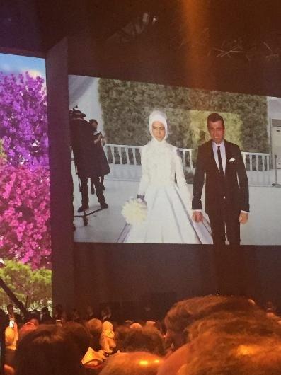 Sümeyye Erdoğan ve Selçuk Bayraktar'ın düğününden ilk kareler 6