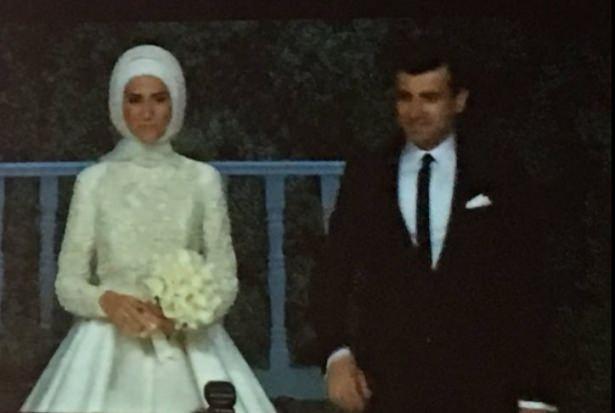 Sümeyye Erdoğan ve Selçuk Bayraktar'ın düğününden ilk kareler 7
