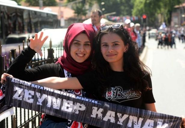 Beşiktaş taraftarı kutlamalara erken başladı 7
