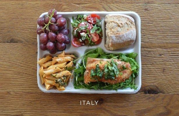 İşte ülkelere göre okullarda sunulan yemekler! 1
