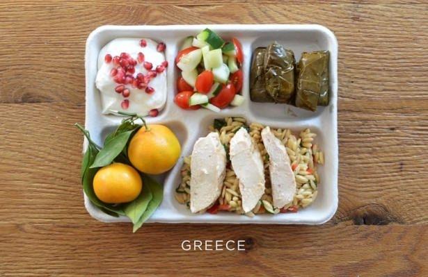 İşte ülkelere göre okullarda sunulan yemekler! 12