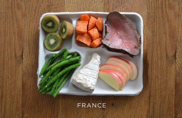 İşte ülkelere göre okullarda sunulan yemekler! 2