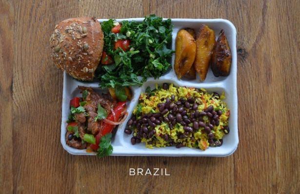 İşte ülkelere göre okullarda sunulan yemekler! 4