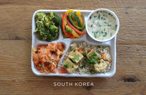 İşte ülkelere göre okullarda sunulan yemekler! 5