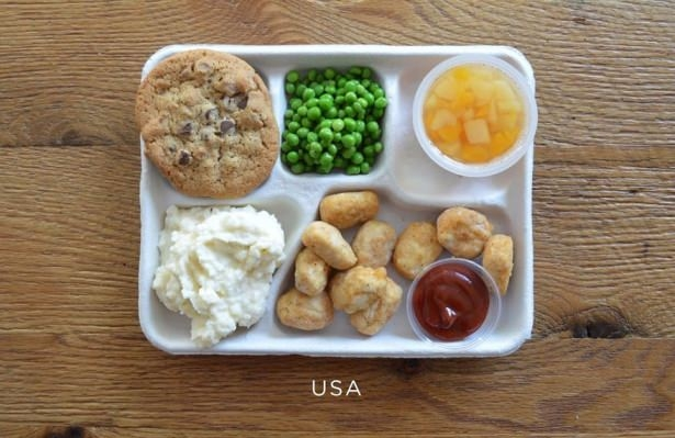 İşte ülkelere göre okullarda sunulan yemekler! 6