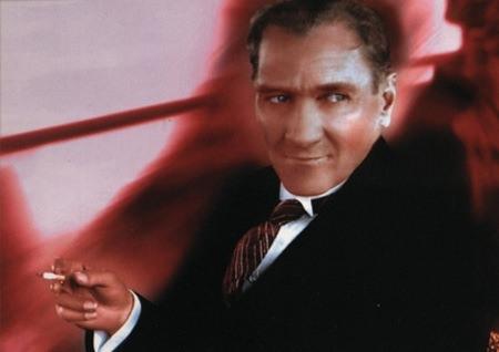 Görmediğiniz kareleriyle 'Atatürk' 152