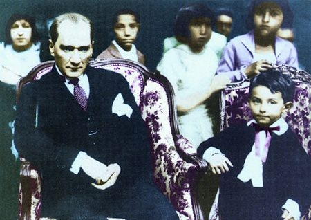 Görmediğiniz kareleriyle 'Atatürk' 183