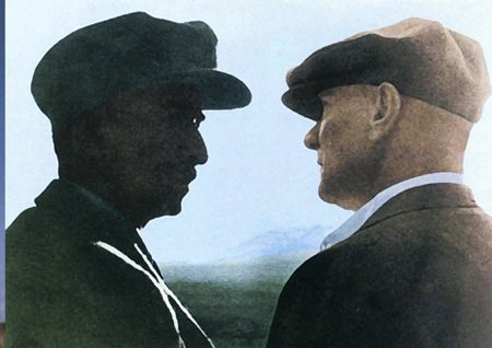 Görmediğiniz kareleriyle 'Atatürk' 205