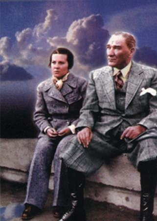 Görmediğiniz kareleriyle 'Atatürk' 206