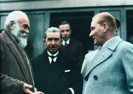 Görmediğiniz kareleriyle 'Atatürk' 59