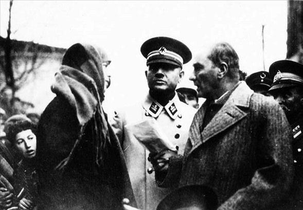 Görmediğiniz kareleriyle 'Atatürk' 8