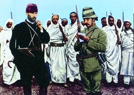 Görmediğiniz kareleriyle 'Atatürk' 91
