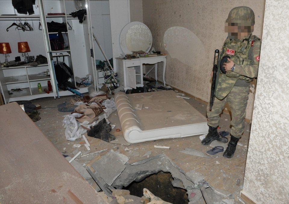 PKK'nın Şırnak'taki 3 'karargah'ı bulundu 1
