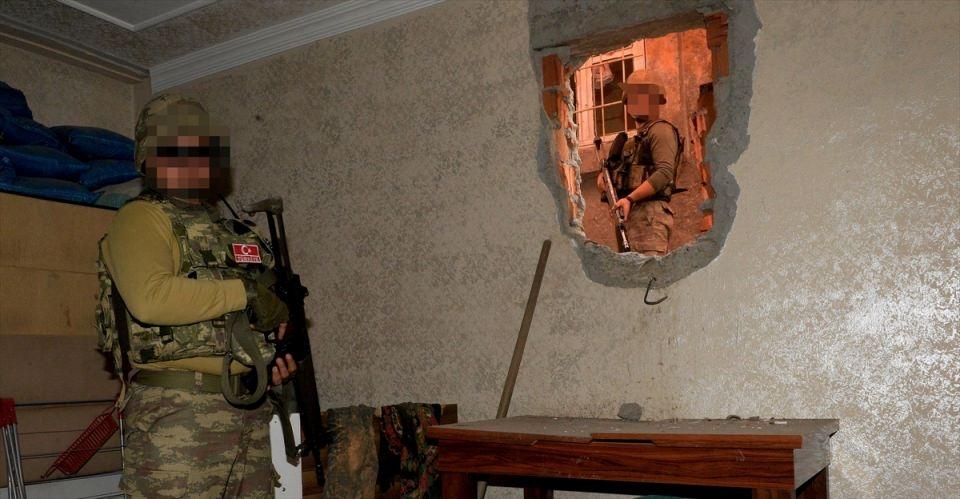 PKK'nın Şırnak'taki 3 'karargah'ı bulundu 13