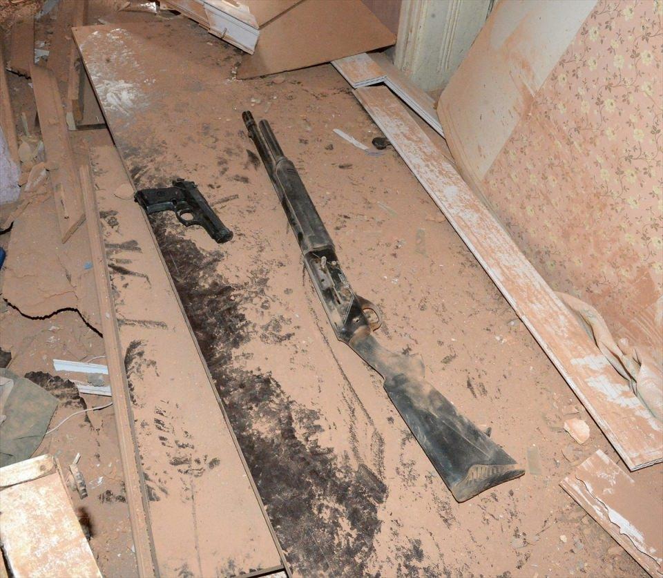 PKK'nın Şırnak'taki 3 'karargah'ı bulundu 18
