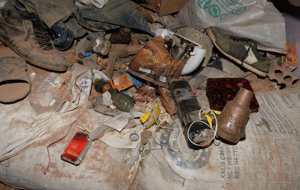 PKK'nın Şırnak'taki 3 'karargah'ı bulundu 19