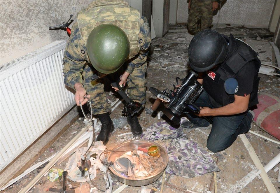 PKK'nın Şırnak'taki 3 'karargah'ı bulundu 6
