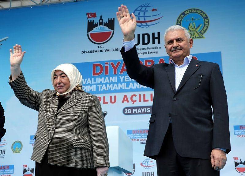 Cumhurbaşkanı ve Başbakan Diyarbakır'da 29