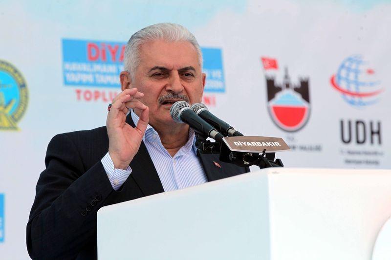 Cumhurbaşkanı ve Başbakan Diyarbakır'da 34