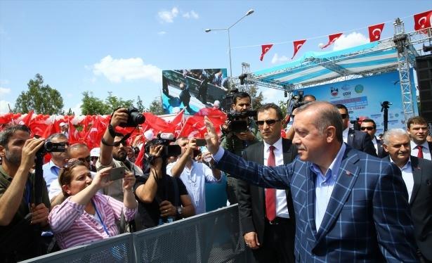 Cumhurbaşkanı ve Başbakan Diyarbakır'da 50