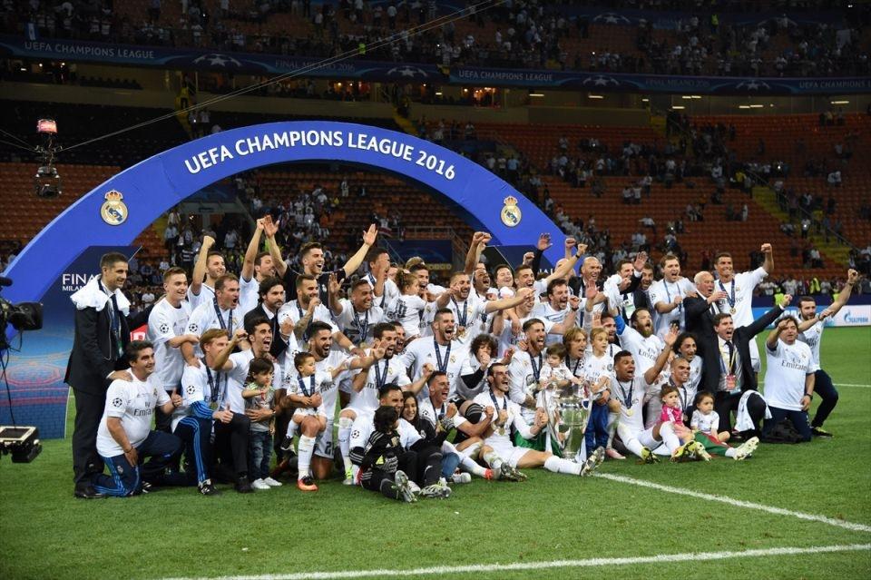 Avrupa'nın en büyüğü 'Real Madrid' 2