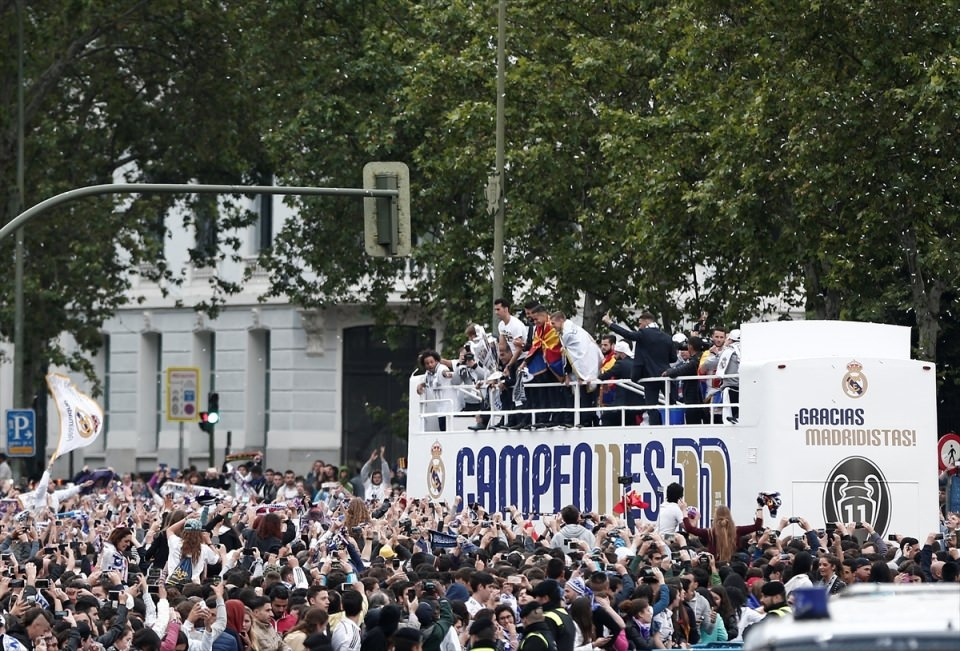 Avrupa'nın en büyüğü 'Real Madrid' 24