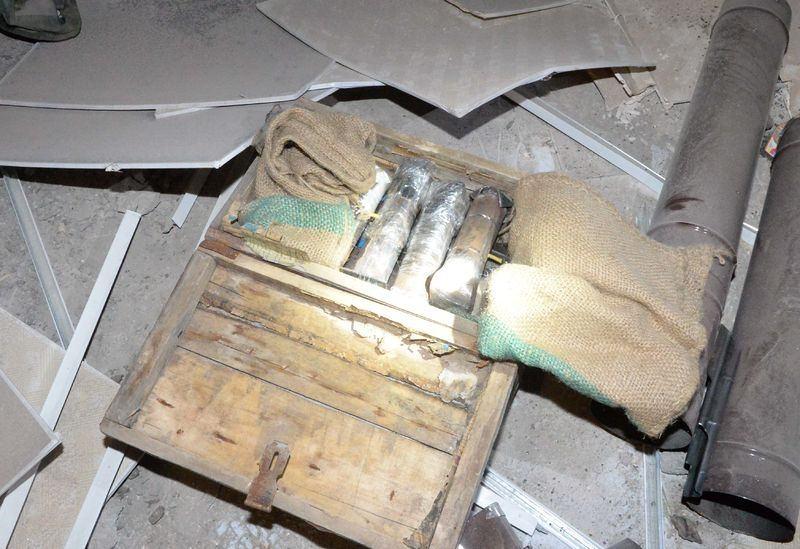 PKK'nın 'Patlayıcı imalathanesi' imha edildi 15